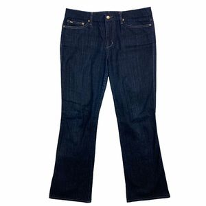 Joes Jeans Dark Wash Muse Stretchy Bootcut Jeans